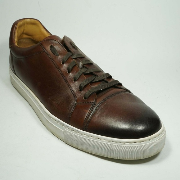 Magnanni Shoes   Cuervo Brown Leather